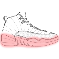 Image icon of highlit shoe midsole